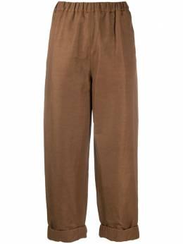Rochas укороченные брюки прямого кроя ROPQ301031RQ475000