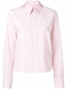 Ami Paris классическая рубашка широкого кроя с нагрудным карманом H19FC051420