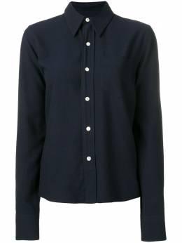 Ami Paris классическая рубашка широкого кроя с нагрудным карманом H19FC051414