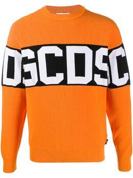 GCDS толстовка с логотипом CC94M021104