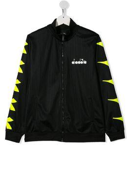 Diadora Junior спортивная куртка с логотипом 022280