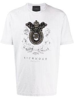 John Richmond декорированная футболка RMP20040TS