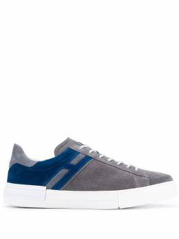 Hogan colour block suede sneakers HXM5260CW00HG0617O
