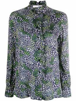 See By Chloe рубашка с оборками и цветочным принтом CHS20UHT23032
