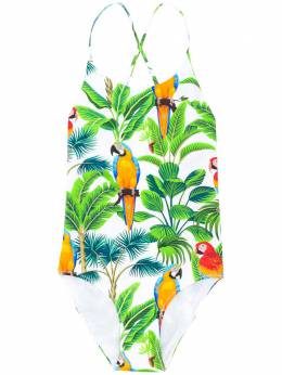 Mc2 Saint Barth Kids TEEN Shady tropical swimsuit SHADY