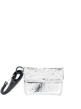 Alexander McQueen logo print keyring pouch 601690HVP0B