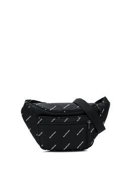 Balenciaga поясная сумка Explorer с логотипом 4823899EL45
