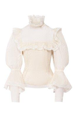 Шелковая блузка The Marc Jacobs W6000015