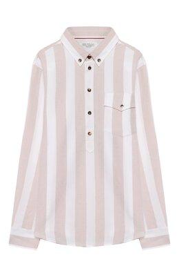 Хлопковая рубашка Brunello Cucinelli BW613C320C