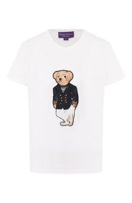 Хлопковая футболка Ralph Lauren 290800034
