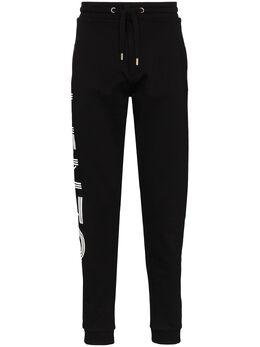 Kenzo спортивные брюки из джерси с логотипом F005PA7164MD
