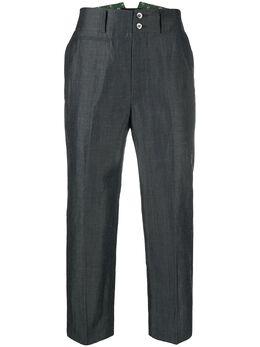 Junya Watanabe Man укороченные брюки прямого кроя WEP009S20