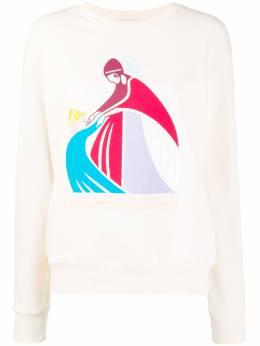Lanvin logo print sweatshirt RWTO666JJR26