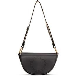 Stella McCartney Black Marlee Logo Bag 700083W8542