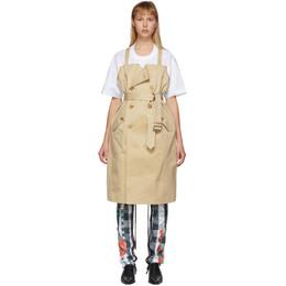 Junya Watanabe Beige Trench T-Shirt Dress JE-0031-051