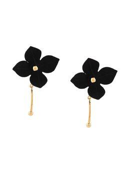 Marni fabric flower earrings ORMV0149AOT2000