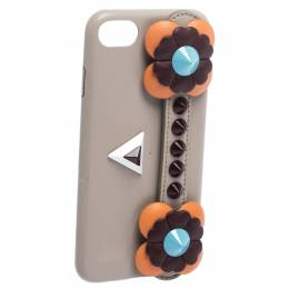 Fendi Multicolor Leather Flowerland iPhone 7 Case 282068