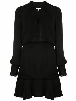 Veronica Beard платье мини со сборками 1911CP0052766