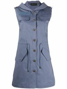 Mr & Mrs Italy платье мини на пуговицах XDR0104EST001