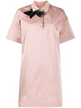 No. 21 платье с бантом 20EN2M0H0225184