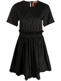 No. 21 короткое многослойное платье 20EN2S0H2610605