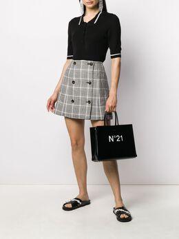 No. 21 сумка-тоут с логотипом 20EBP0102KO00