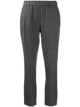 Fabiana Filippi укороченные брюки с завышенной талией PAD260W8780000A608