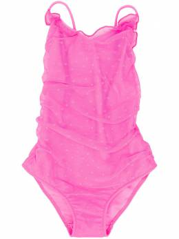 Mc2 Saint Barth Kids TEEN Didier tulle style swimsuit DIDIER