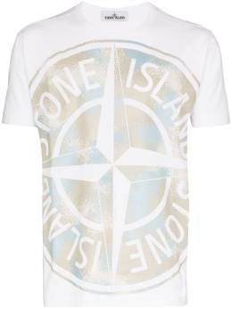 Stone Island Special Project Camp logo T-shirt MO721523388