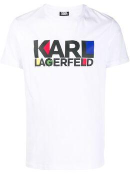 Karl Lagerfeld футболка с логотипом 75504250122410