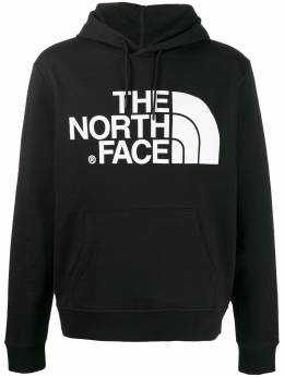 The North Face logo-print cotton hoodie NF0A3XYD