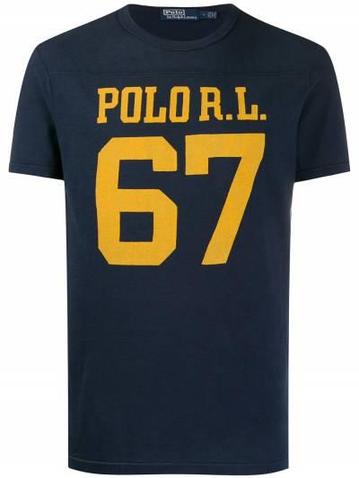 Polo Ralph Lauren футболка с логотипом 710791580 - 1