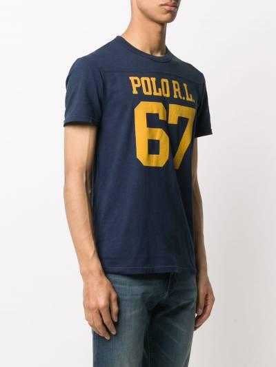 Polo Ralph Lauren футболка с логотипом 710791580 - 3