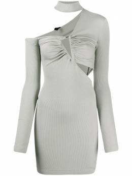 Unravel Project трикотажное платье асимметричного кроя UWDB129S20JER0010600