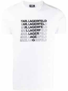 Karl Lagerfeld футболка Kl Triangle KL200012010