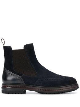Santoni ботинки с эластичными вставками MGMI16282JL9AZAK