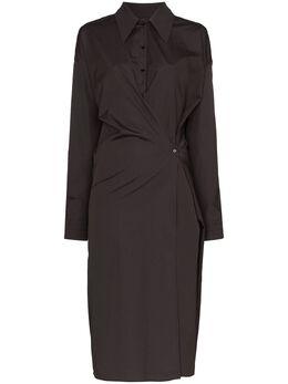 Lemaire платье-рубашка на пуговицах W201DR254LF353