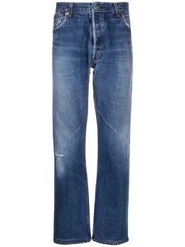 Re/Done прямые джинсы с завышенной талией 5004ST