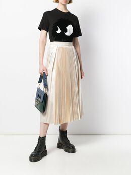 Sara Lanzi плиссированная юбка с завышенной талией 03J