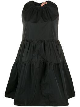 No. 21 ярусное расклешенное платье мини 20EN2M0H1015184