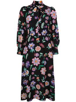 Olivia Rubin платье с цветочным принтом OR0380