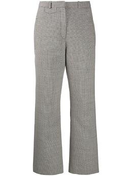 Paco Rabanne брюки широкого кроя в ломаную клетку 20ECPA068PO0250