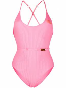 Love Stories ribbed logo swimsuit S2033114525000