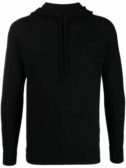 Roberto Collina knitted drawstring hoodie RC44007