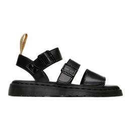 Dr. Martens Black Vegan Gryphon Sandals R25517001