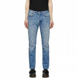 Re/Done Blue Light Slim Fit Jeans 301-3MSLM