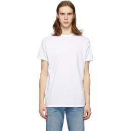 Re/Done White Modern T-Shirt 067-2MMTSL