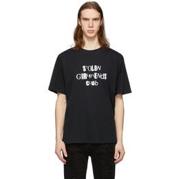 Stolen Girlfriends Club Black Sid And Nancy T-Shirt C1-20T001B-A