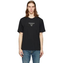 Stolen Girlfriends Club Black BPM Logo T-Shirt C1-20T001B-F