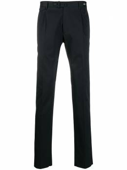 Tagliatore pleated detail logo plaque tailored trousers TAG1177UEZ177